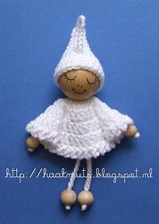 Crochet Angel de Navidad  / Tutorial ❥Teresa Restegui http://www.pinterest.com/teretegui/❥