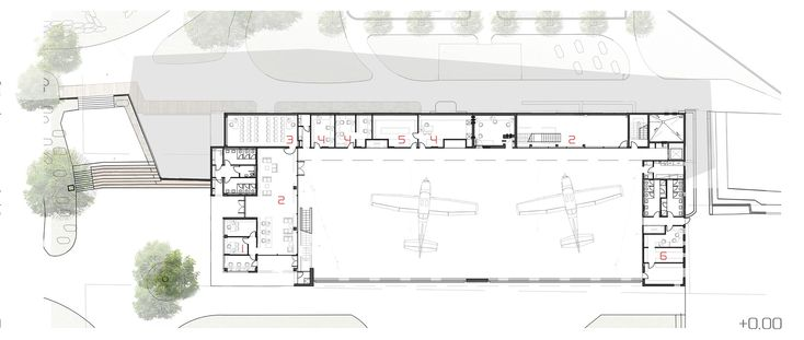 Paradive,Ground Floor Plan