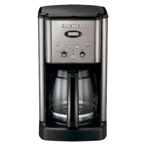Cuisinart Brew Central 12 Cup Programmable Coffee Maker Stainless Steel Dcc 1200p1 Cuisinart Coffee Maker Coffee Maker Cuisinart