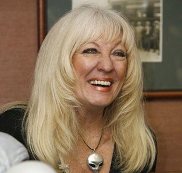 Legal alien? Cynthia Crawford
