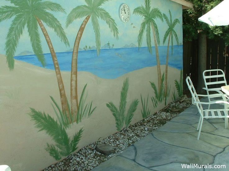 Outdoor Fence Murals Bing Images Backyard Ideas