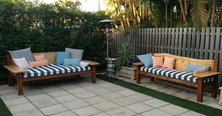 Daybed - Indulgence. Recycled timber furniture. custom made