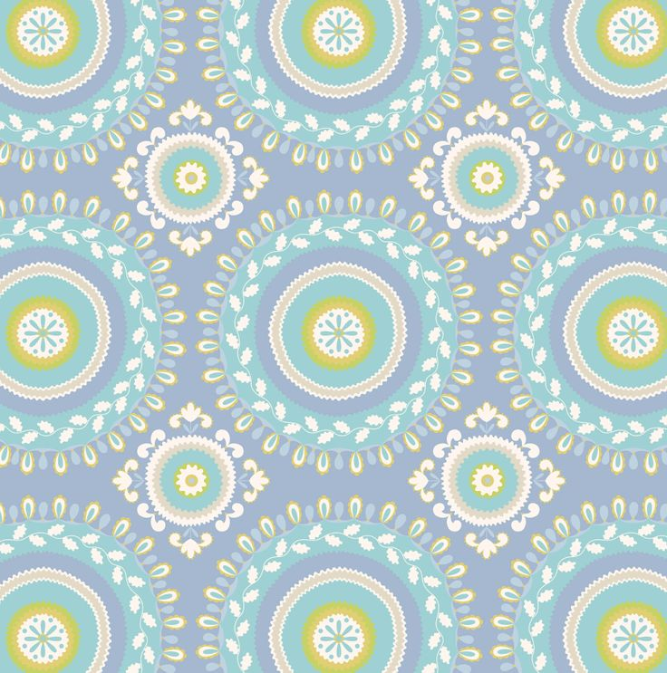 Kumari Garden Collection   Jeevan In Blue By Dena™ For Free Spirit Fabrics