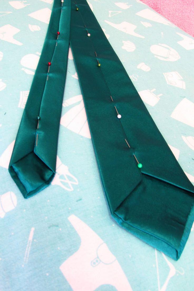Twenty-first Century Lady: How to Make a Men's Tie... Properly