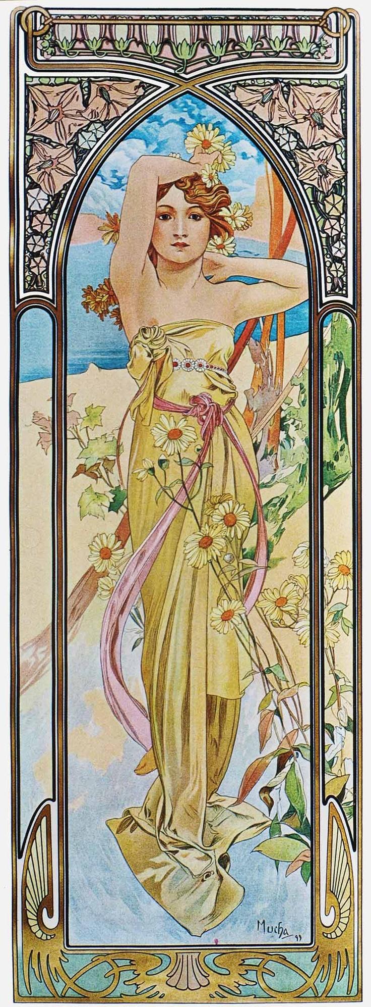 Alphonse Mucha, son oeuvre graphique en haute définition | Le Jardin des Délices