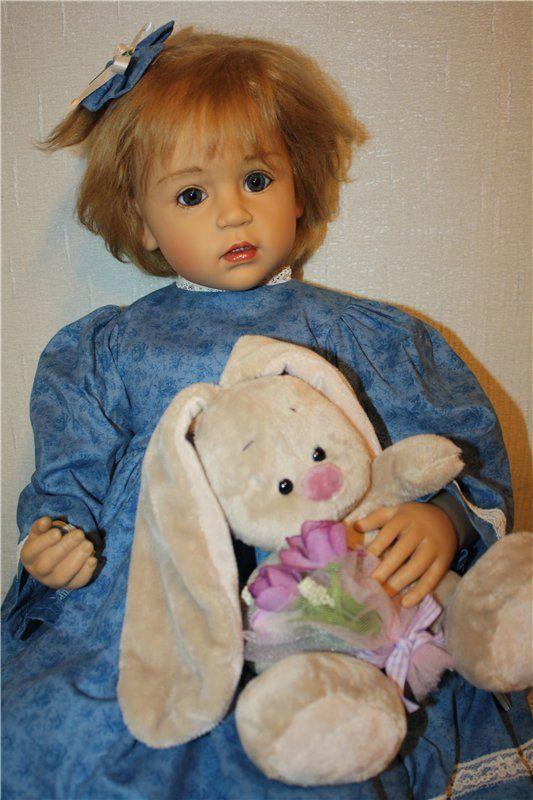 Сбылась моя мечта! Кристина от автора Sissel Skille / Коллекционные куклы Sissel Bjorstadt Skille / Бэйбики. Куклы фото. Одежда для кукол