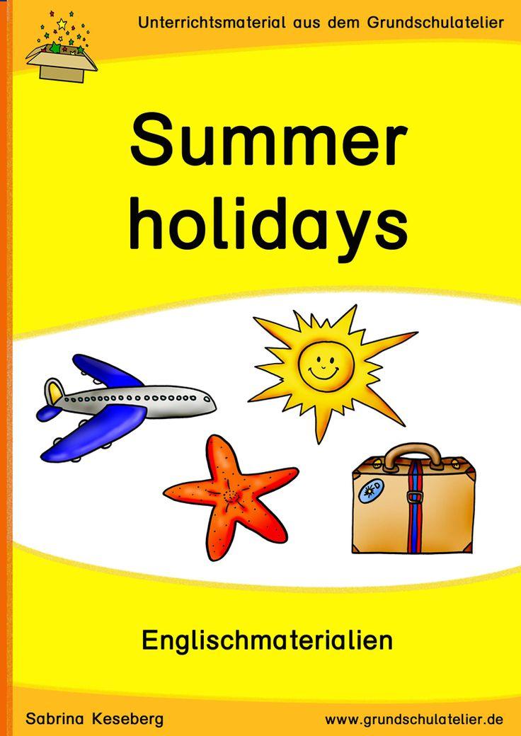 summer holidays sommer unterrichtsmaterial f r die grundschule englischunterricht. Black Bedroom Furniture Sets. Home Design Ideas