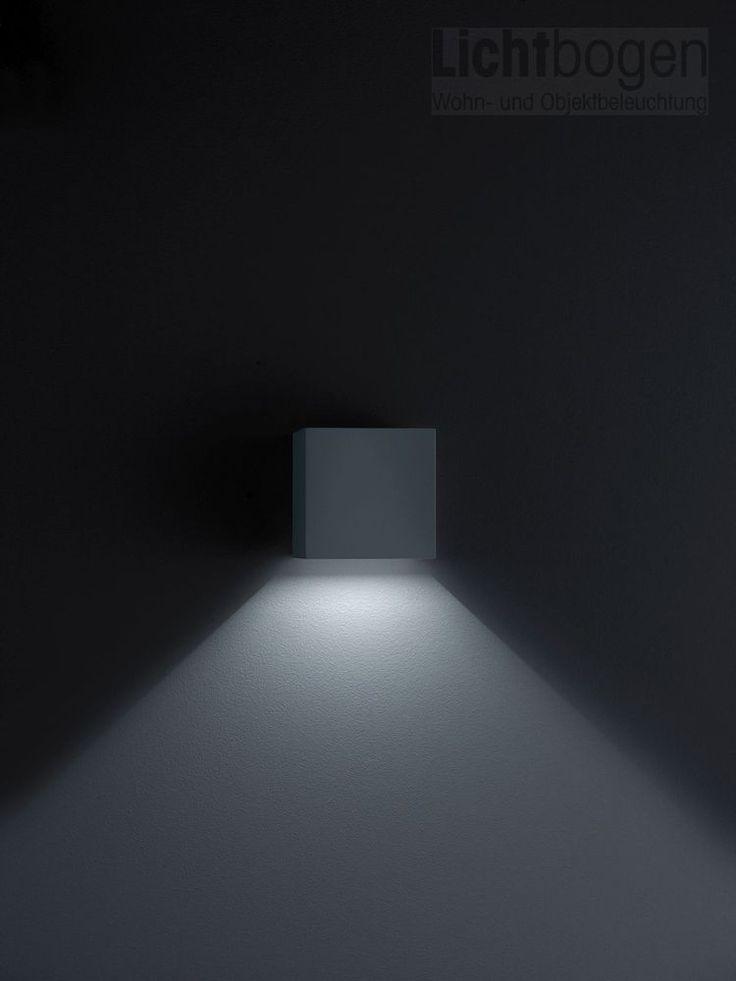 Stunning Helestra Siri LED Wandleuchte mattschwarz A