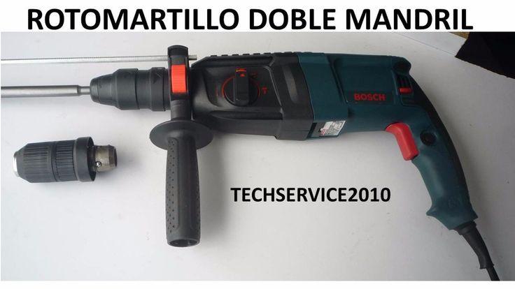 Gratis Taladro Rotomartillo Demoledor Bosh Doble Mandril - $ 269.000 en MercadoLibre