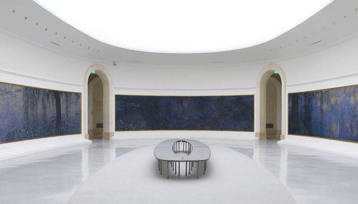 «Кувшинки» Моне в Музее Оранжери