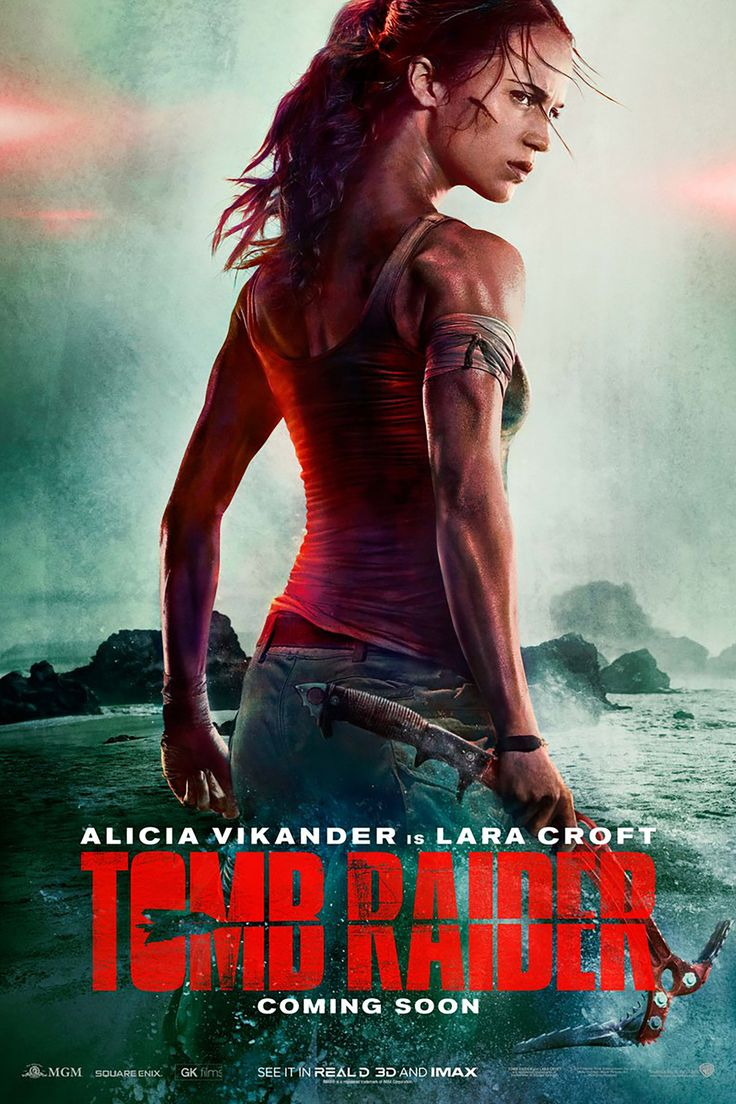 Alicia Vikander is the new Lara Croft in first 'Tomb Raider' movie trailer.  Alicia Vikander brings iconic video game game character Lara Croft to life  in ...