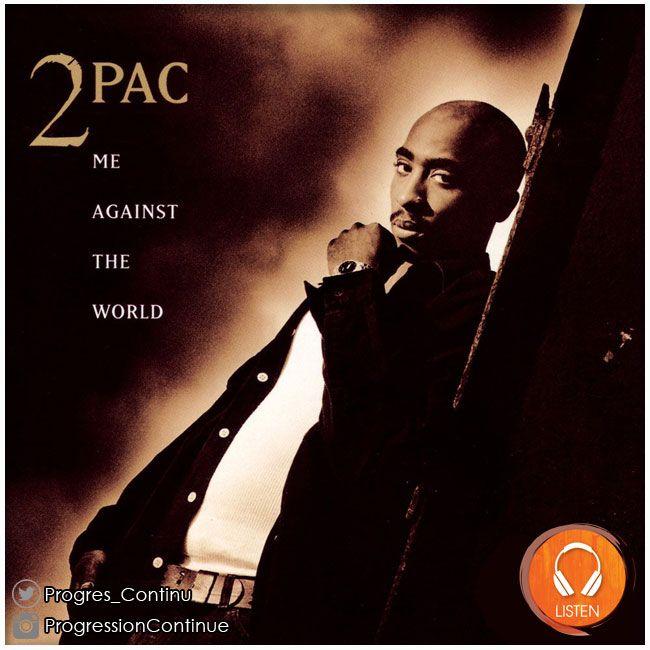 2Pac - Me Against the World (1995) // Album qui a fait eclater Tupac au grand jour, il est truffé de petites bombes (me against the world, temptations, lord knows, dear mama...). Il peut etre sans probleme classer parmi les 20 plus grands disques de rap US. #2pac #tupac #shakur #against #world #album #rap
