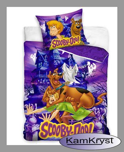 Bedding Scooby Doo 160x200 | Pościel Scooby Doo 160x200 z kolekcji pościeli dziecięcych sklepu KamKryst #scoobydoo #scooby_doo #scoobydoo_bedding