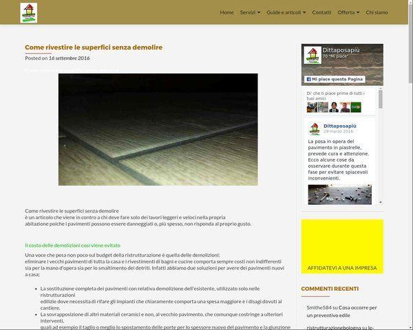 Website speed test