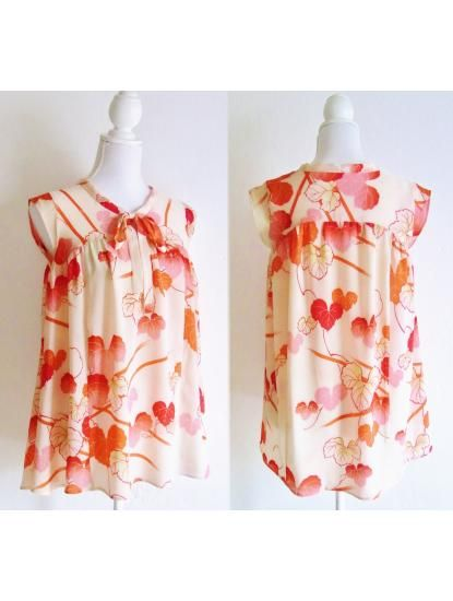 Released today! A top made of KIMONO fabric♥♥♥  http://ulala-sisters.shop-pro.jp/