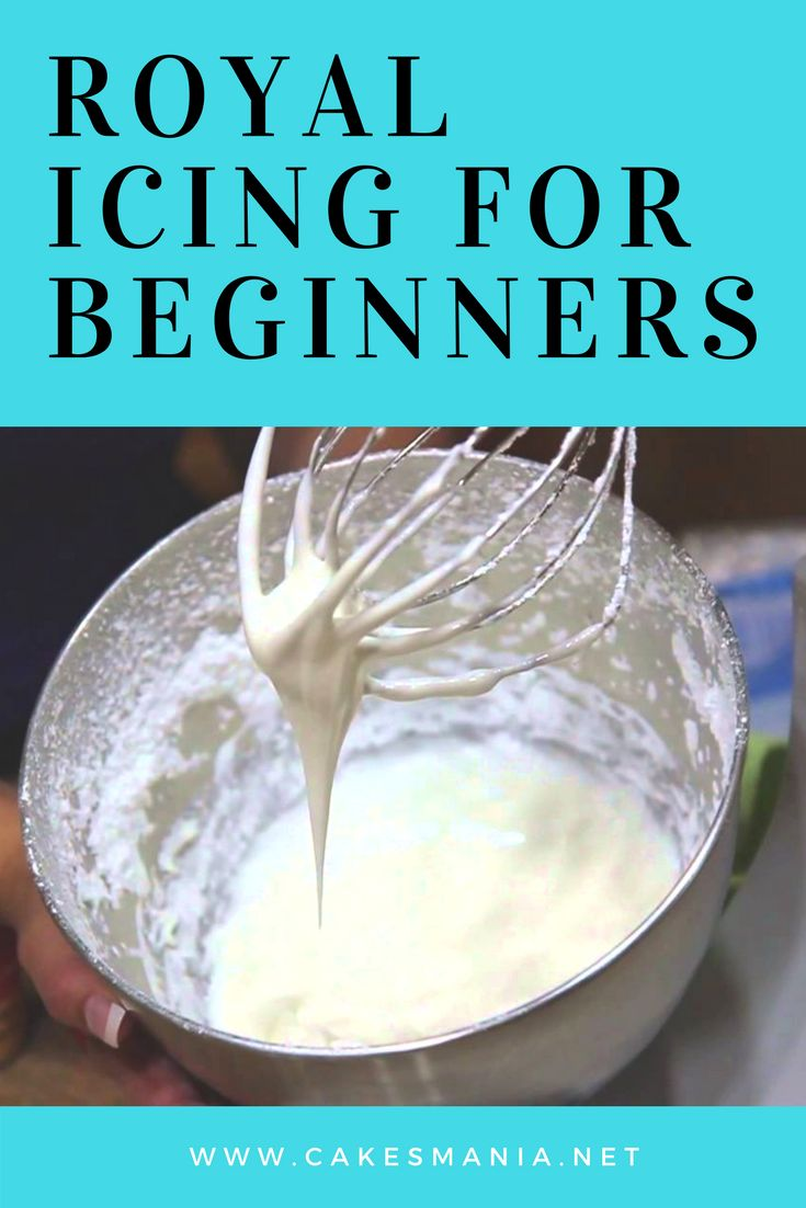 How To Make Royal Icing For Beginners