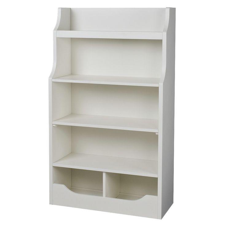 Mori 5 Shelf Bookcase - Off-White