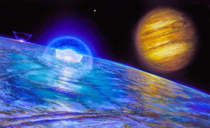 Esta semana a NASA irá revelar novas descobertas que envolvem oceanos alienígenas em nosso sistema solar, anunciaram autoridades da agência...