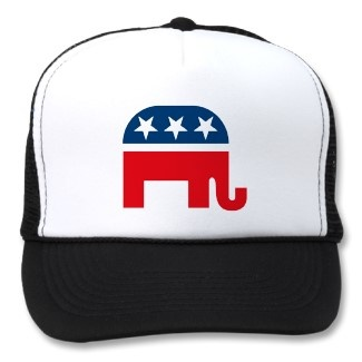 Republican Elephant HatTrucker Hats, Republican Swag, Romney Hats, Elephant Hats, Republican Elephant, Random Pin, Pin Parties