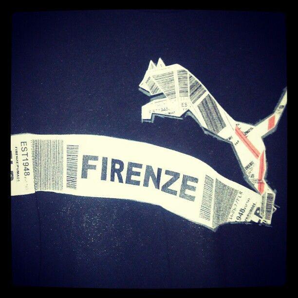 My old Firenze Puma t-shirt