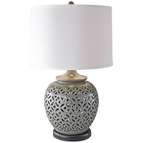 Gray Table Lamps Magnificent 12 Best Lamps  Living Room Images On Pinterest  Buffet Lamps Decorating Design