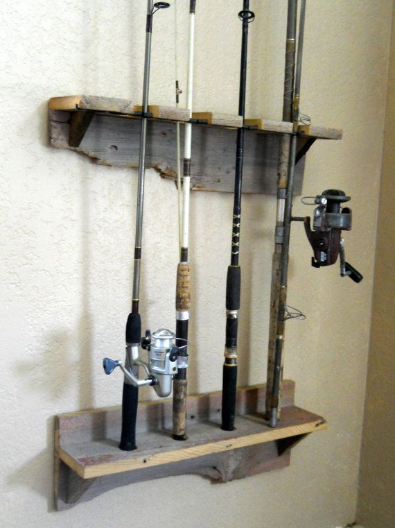 Perfect for tidying up all those fishing poles. Made something similar last year.
