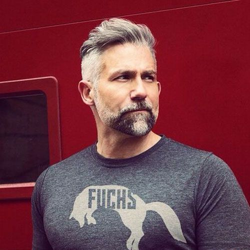 Gray Hairstyles For Men