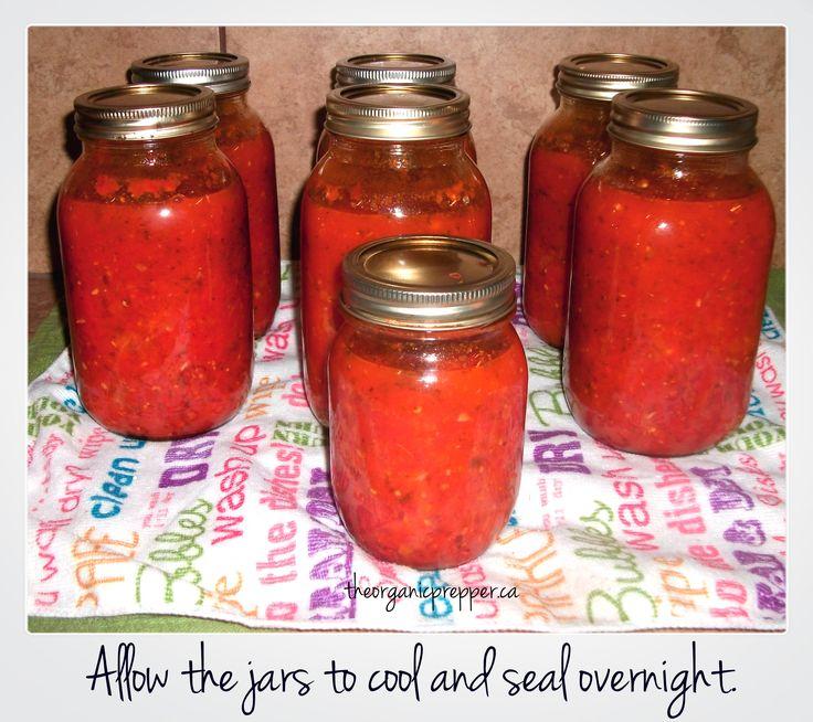 Someday I'll be cool enough to make my own marinara sauce!