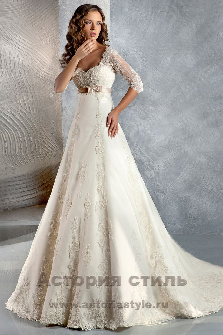 Свадебное платье Нейджел в Москве - - А-СИЛУЭТ - свадебный салон «Астория стиль»