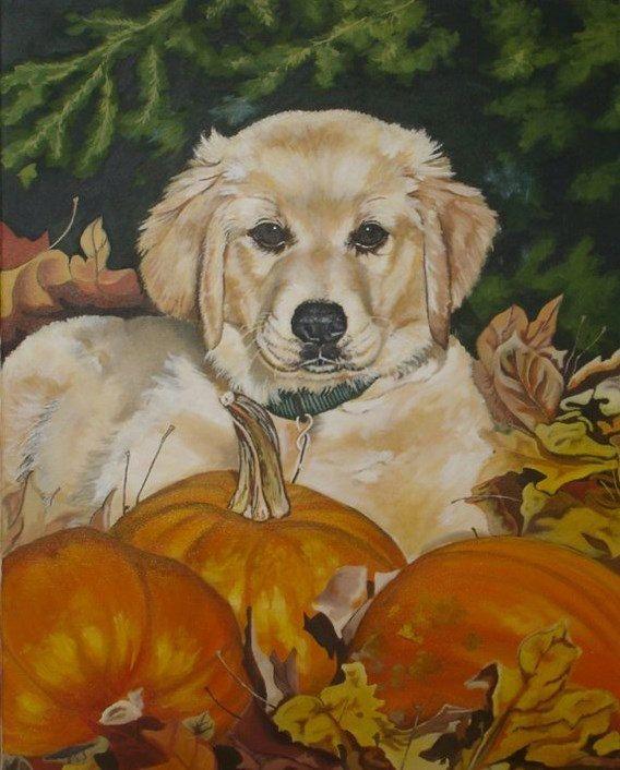 Custom Pet Portrait Painting Pet Keepsake or by ClarityArtDesign