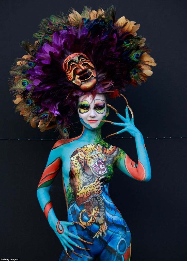 63 best Body paint/dance video board images on Pinterest | Body ...