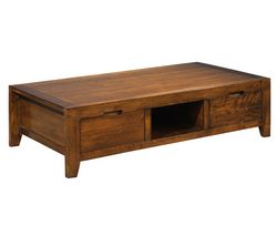 Table basse SAUMANE - Noyer