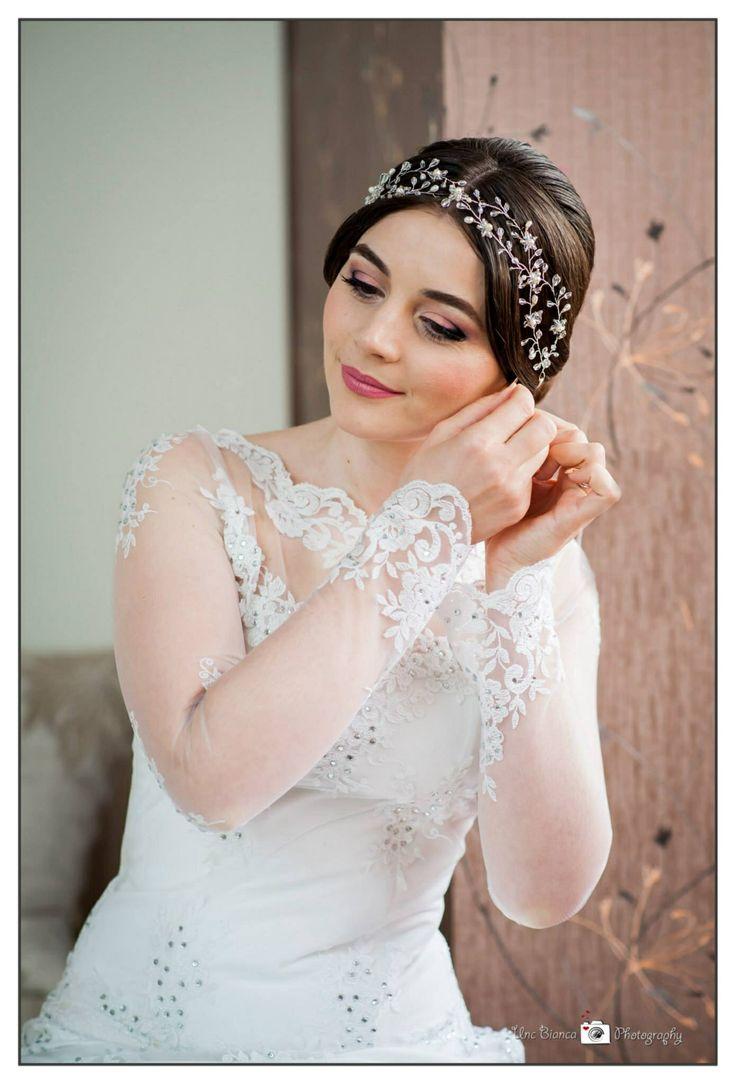 My first bridal make-up :)