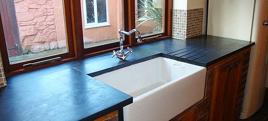 Slate worktops and counters | Welsh Slate Products