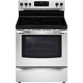 Kenmore®/MD 30'' Self-Clean Smooth-Top Range, Stainless Steel - Sears | Sears Canada