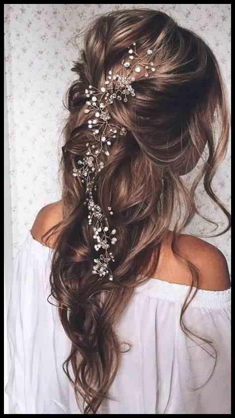 Festliche Frisuren Lange Haare Offen Locken Offenlocken In