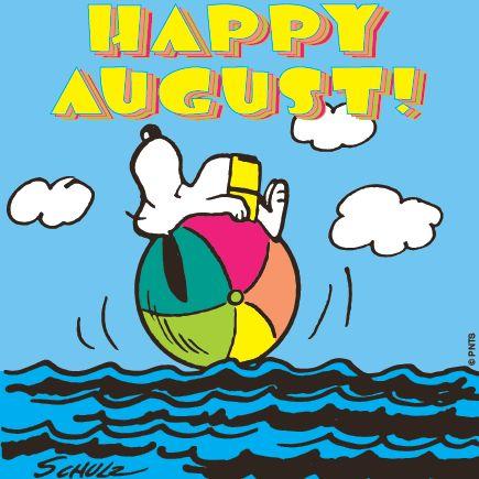Happy August!