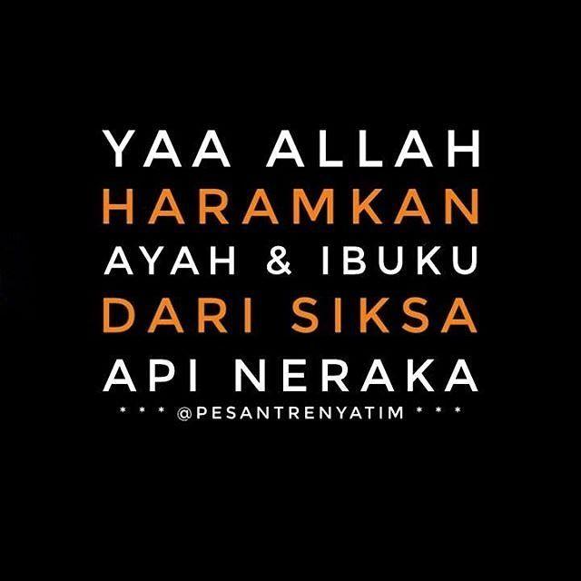 . Sesungguhnya diantara sebab terbesar untuk dapat meraih taufik dari Allah Subhanahu wa ta'ala di dunia dan akhirat adalah birrul walidaini (berbakti kepada kedua orang tua). .  Sebaliknya diantara sebab terbesar yang menghalangi seseorang untuk mendapatkan taufik dari Allah adalah 'uququl walidaini (durhaka kepada Ayah dan Bunda). . . (Shalih al-Maghamisi hafidzahullah). .  Berikan Hadiah Terbaik Berupa #Wakaf Atas Nama Orang Tua Untuk Perluasan Lahan dan Pembangunan #PesantrenYatim…