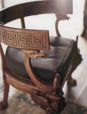 www.eyefordesignlfd.blogspot.com : Decorating With Greek Key Motif