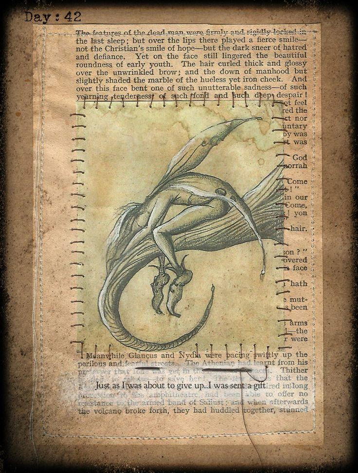 Fey fairie fairy,fantasy paper art by Traci Howard(feythcrafts)