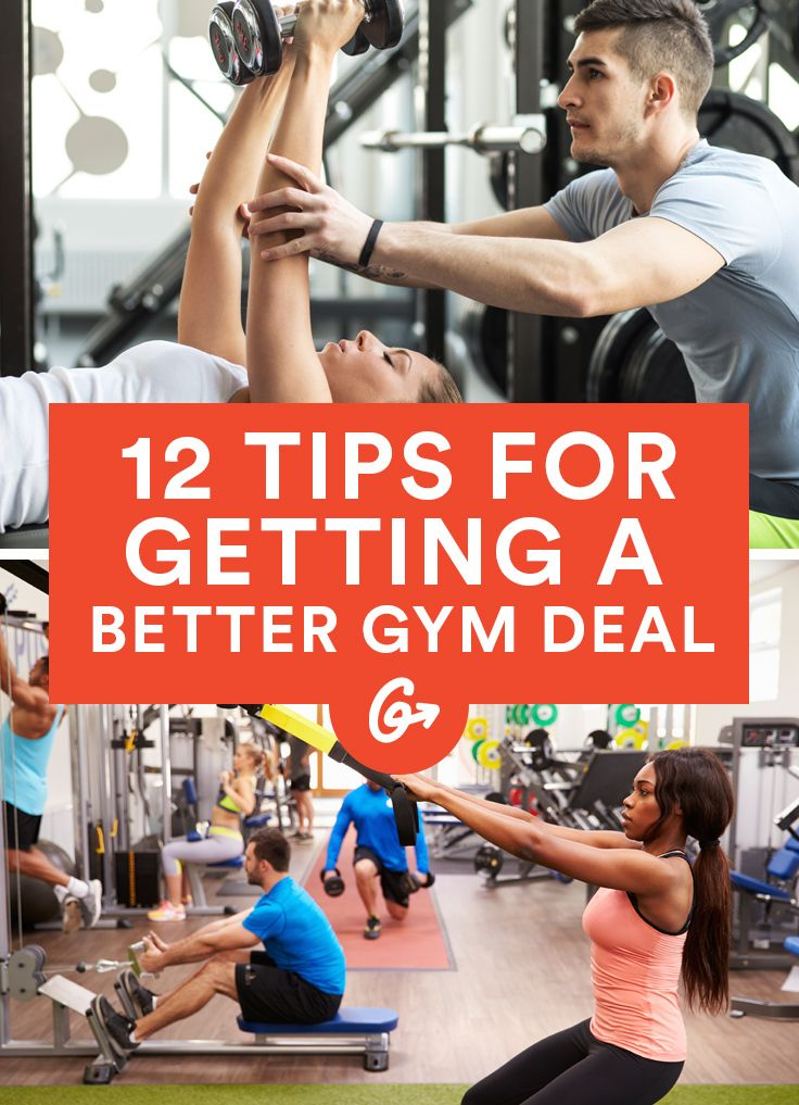 How to Negotiate a Sweet Deal on Any Gym Membership #gym #membership #money http://greatist.com/move/negotiate-gym-membership-deal