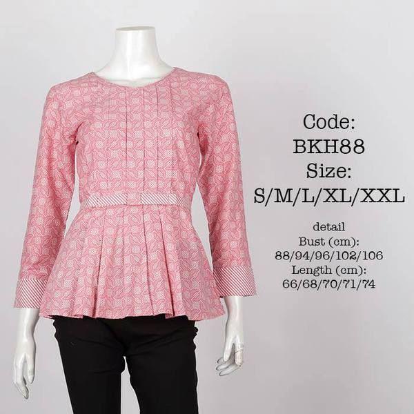 Blus Batik BKH88