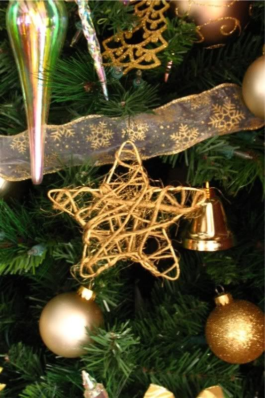 Rustic star ornament in about 25 minutes
