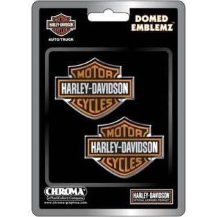 Harley-Davidson Domed Emblemz Decals