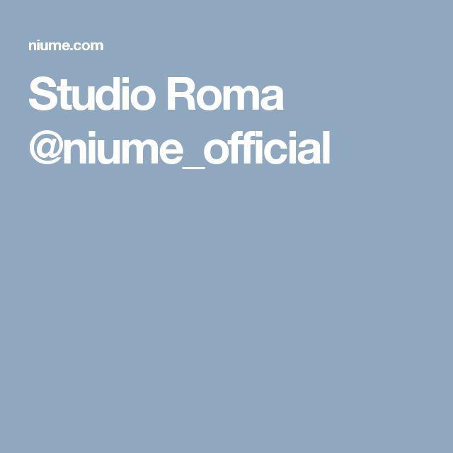 Studio Roma @niume_official