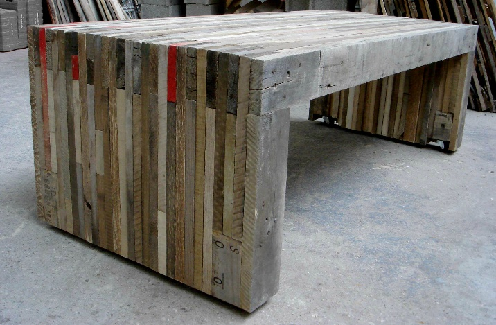 Table basse en palette par cigu selection pinterest - Table basse palette industrielle ...