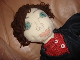 'Harry' art doll
