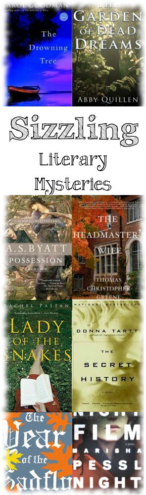 8 riveting whodunits with atmospheric settings and twists and turns to keep you turning the pages. #books #literarymysteries #booklists #mysteries #summerreads #literarythrillers