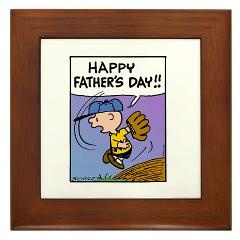 Happy Father's Day Framed Tile > Happy Father's Day > Snoopy Store