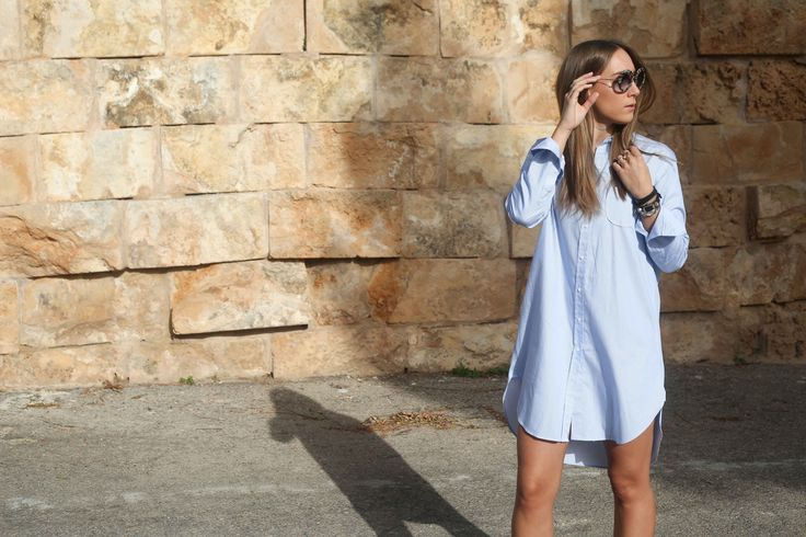 stylethemonkey.com // that shirt dress